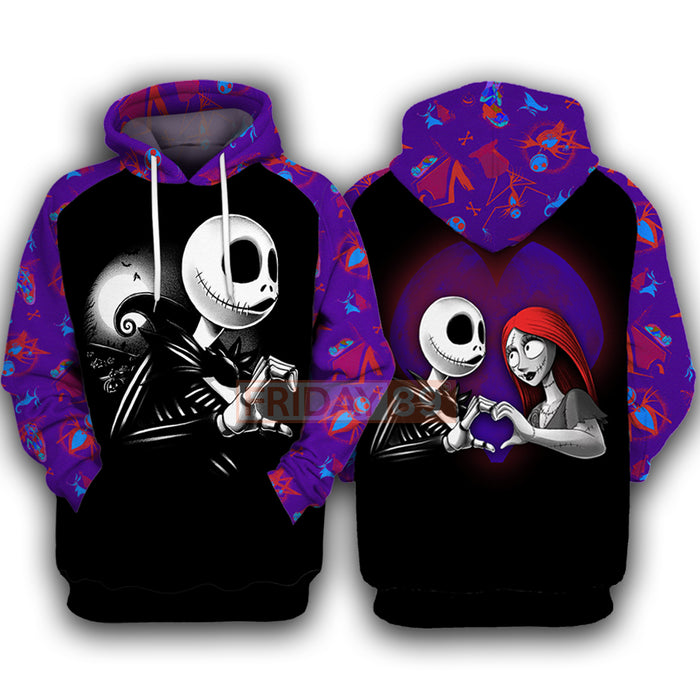 Jack - Nightmare Matching Couple Hoodie