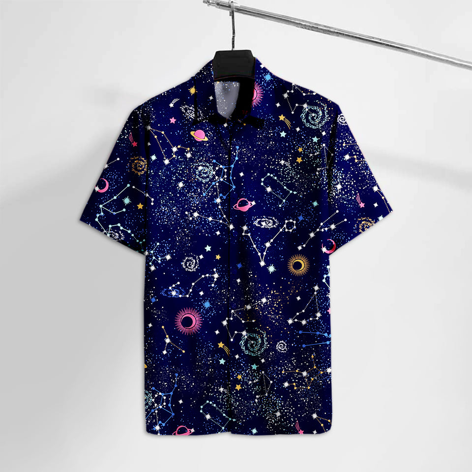 NS Geometric Space and Astronomy Hawaii Tshirt