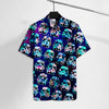 SW Storm trooper Floral Hawaii Tshirt