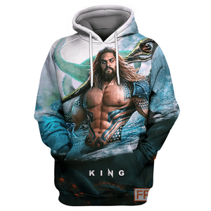 King AQM - All Over Printing Hoodie & Shirt