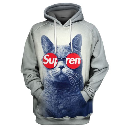 Cat Supreme 3D Print Shirt