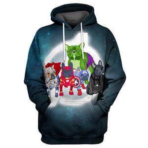 Marvel Dog 3D Print Shirt
