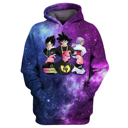 Dragon Ball Squad All Over Print Shirt
