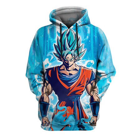 Dragon Ball Shirt - GK SSJ Blue