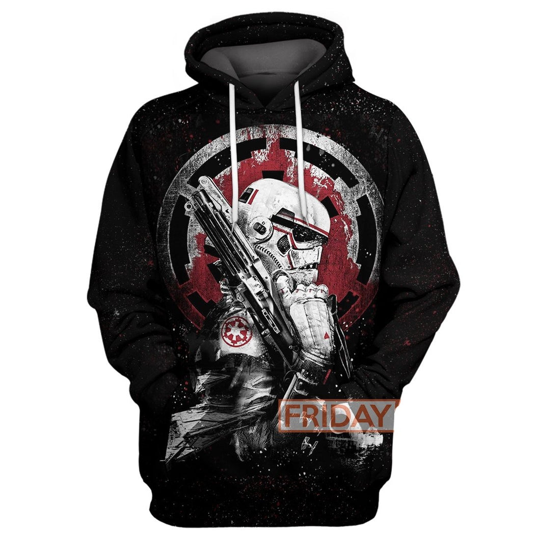 SW Stormtrooper All Over Print Hoodie