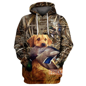 Beauty Hunting Dog 3D Print Hoodie T-shirt Tank Sweater