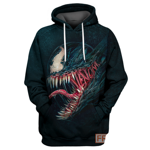 Max Red & Blue Venom - All Over Printing Shirt & Hoodie