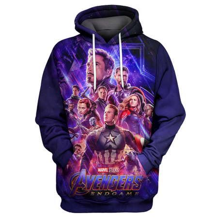 Marvel End Game 3D Print Shirt