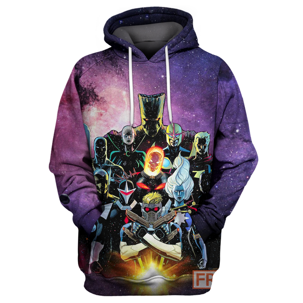 Guardian Of The Galaxy Verse - All Over Printing Shirt & Hoodie