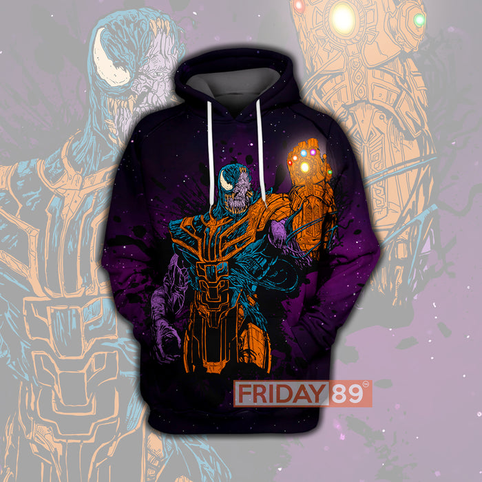 MV Venom Infinity All Over Print Hoodie T-shirt