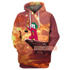 JK Oscar The King  All Over Print Hoodie T-shirt