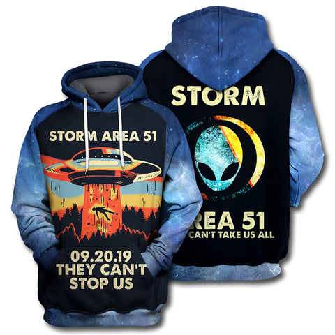 Image of Storm Area 51 All Over Print Hoodie