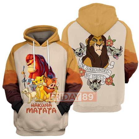 New Lion King Hoodie Shirt Long Sleeve 3D Print