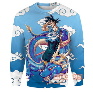 Goku With Dragon