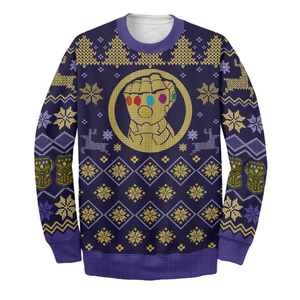 Thanos Ugly Long Sleeve Ver 02 Printing