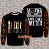 BE KIND BLACK LIVES MATTER 3D PRINT HOODIE T-SHIRT