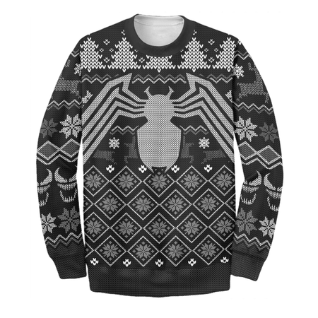 Venom Ugly Long Sleeve Christmas Ver 02 Printing