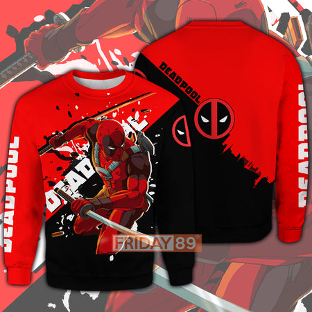 DP MV Comic Character All Over Print Hoodie T-shirt