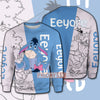 Eeyore Adorable Donkey Pooh Friends Over Print Hoodie T-shirt