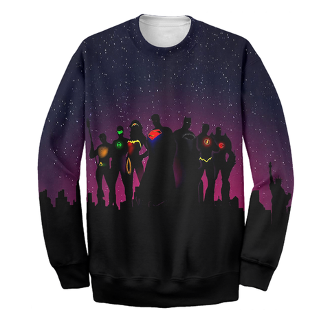 Image of Heroes JL Galaxy Shirt