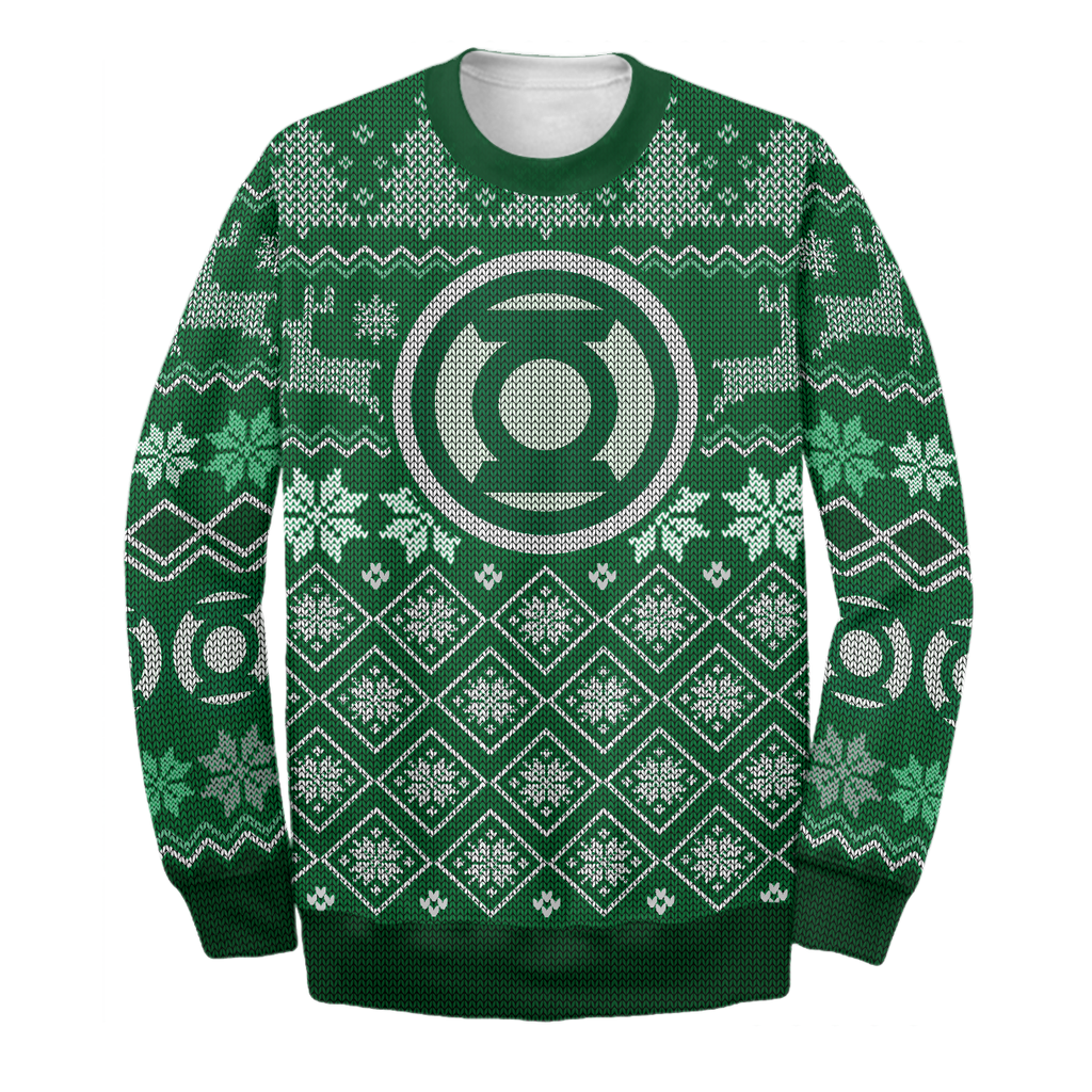 Green LT Ugly Sweater