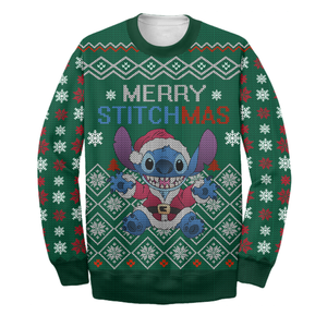 Ugly Long Sleeve - Merry STITCHMAS Printing