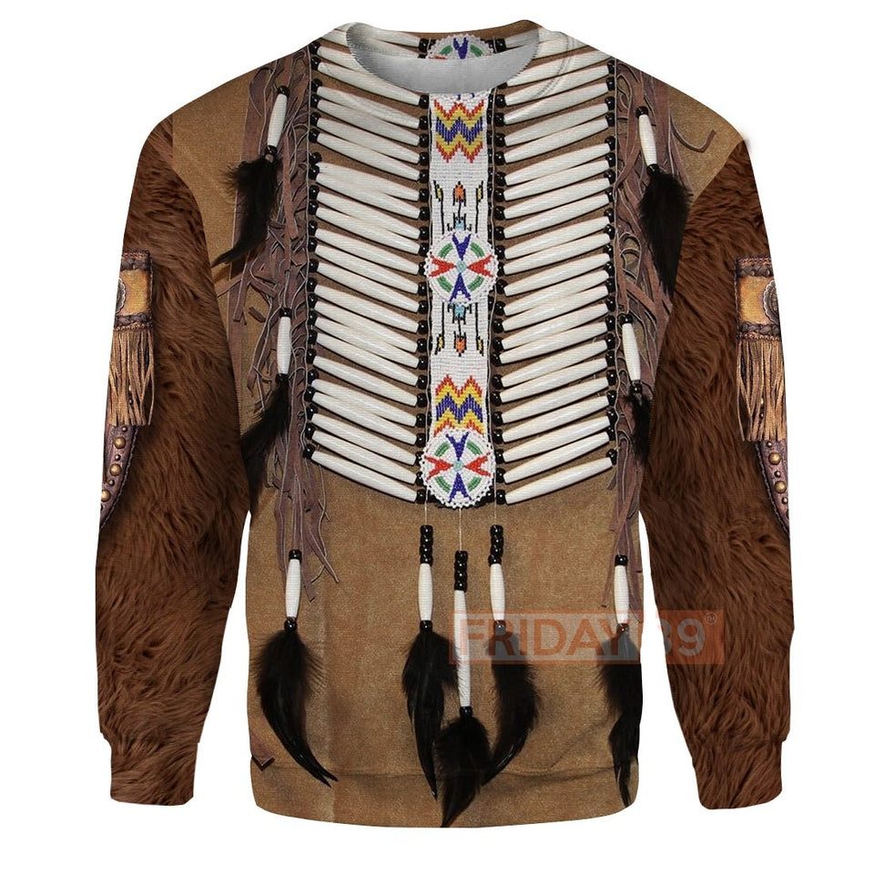Native American Ooze Native Pattern All Over Print Hoodie