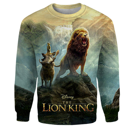 The King Roaring All Over Print Hoodie