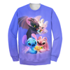 Stitch & Train Dragon 3D Print Shirt