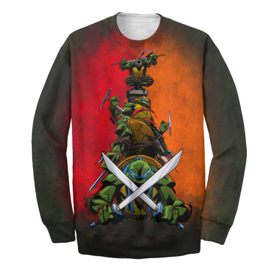 Nijia Turtles 3D Print Shirt