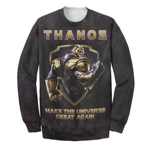 Thanos Election 3D Print Shirt