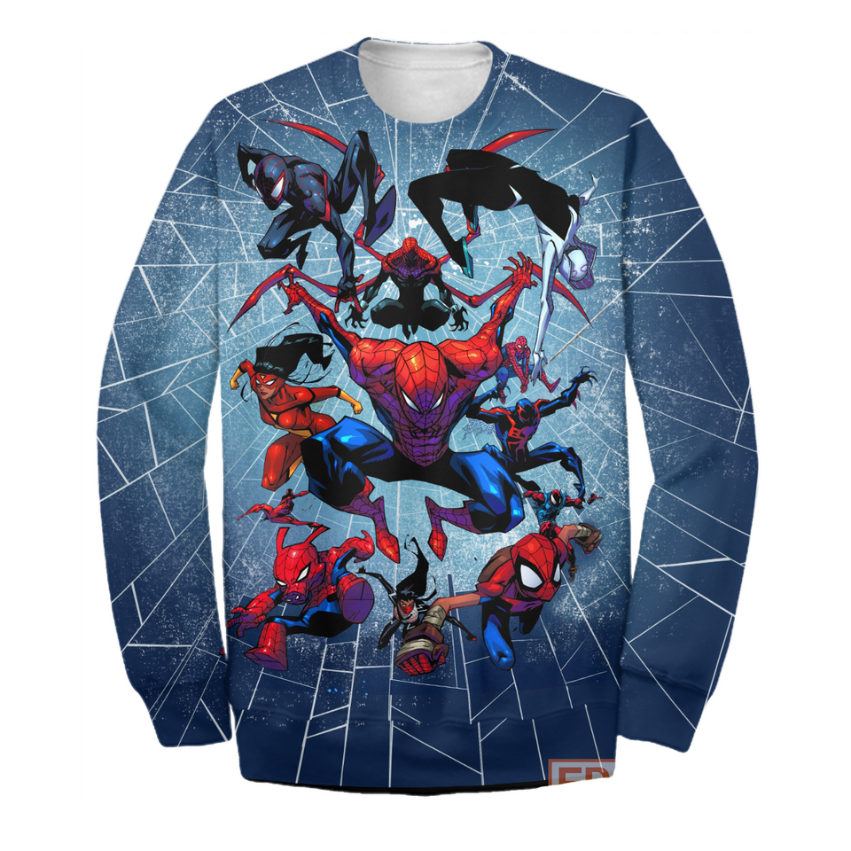 G Spider Verse - All Over Printing Shirt & Hoodie