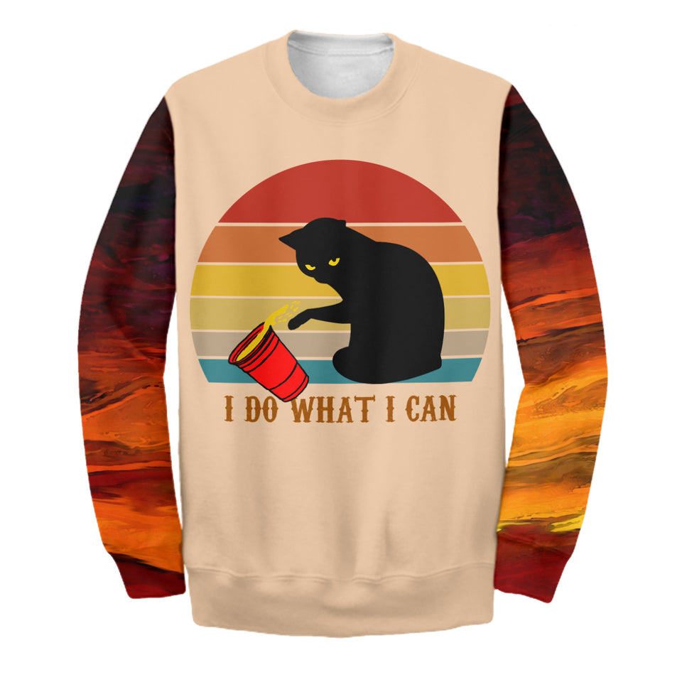 I Do What I Want - Cat Dad Shirt