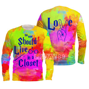 LGBT - No one should live in closet 3D Print