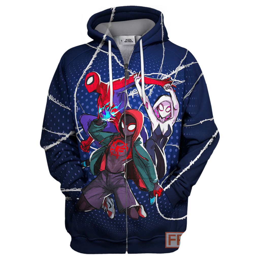 Spider Man New Universe 3D Print Shirt
