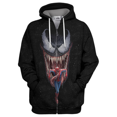 Image of Spider Man & Venom 3D Print Shirt