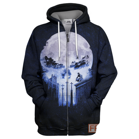 Image of Punisher Blue Moon 3D Print Shirt