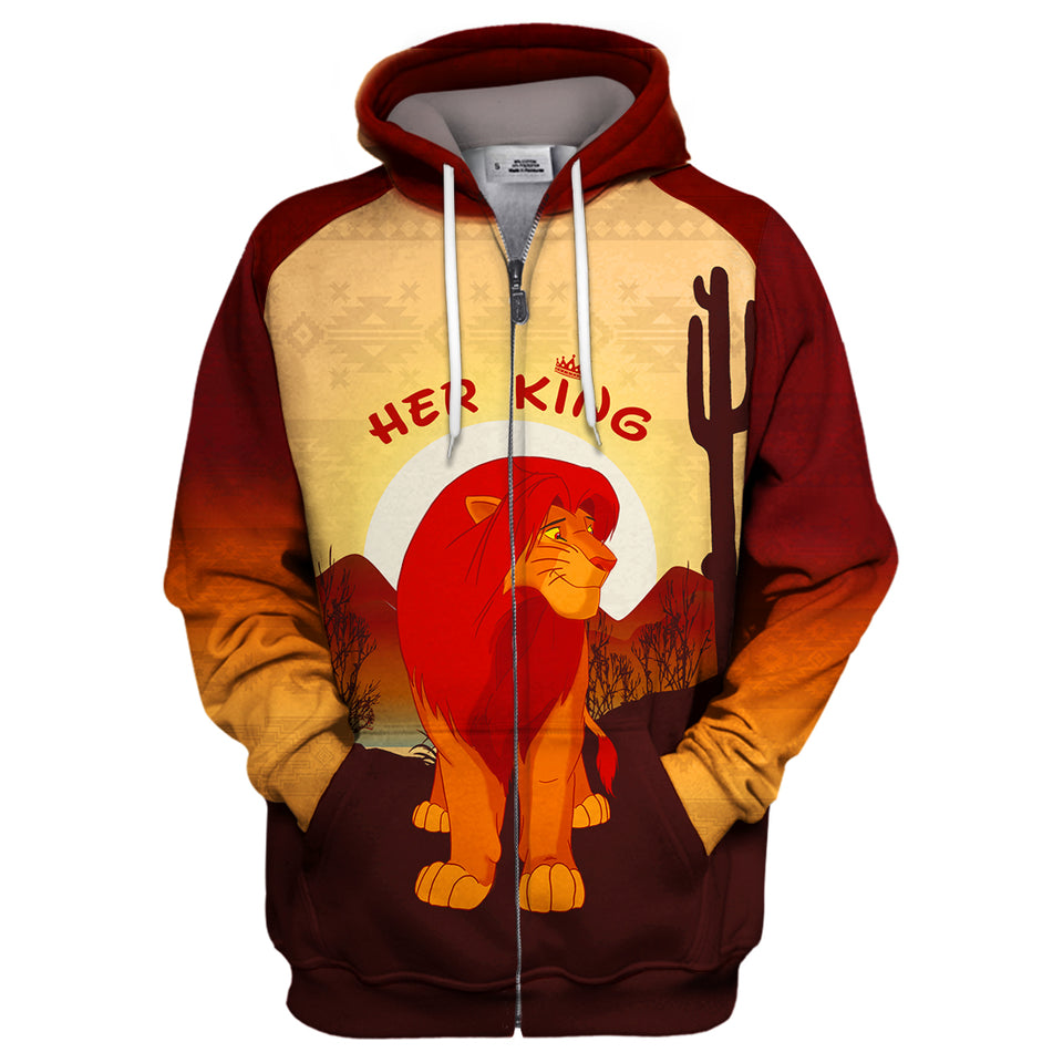 Her King - Lion King Hoodie