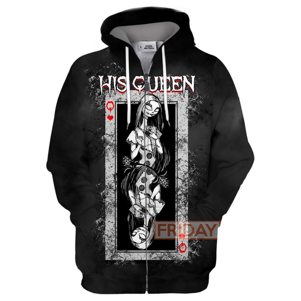 Sally His Queen 3D Print Hoodie