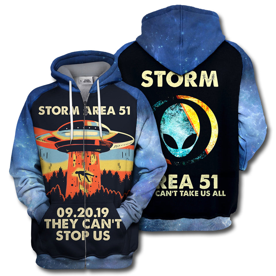 Storm Area 51 All Over Print Hoodie