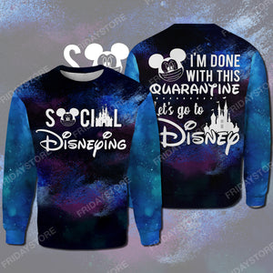 DN Social I'm Done With This Quarantine All Over Print Hoodie T-shirt