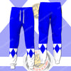 Blue Power Ranger Costume Pants - Jogger