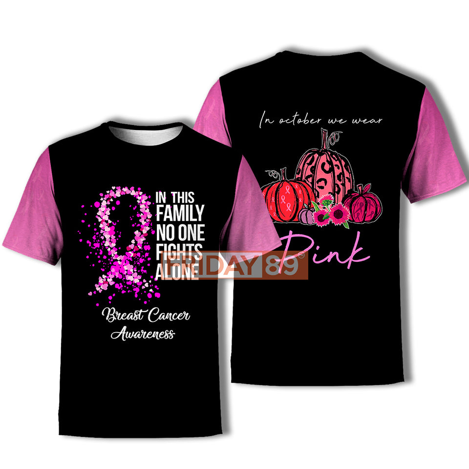 No One Fights Alone - Breast Cancer