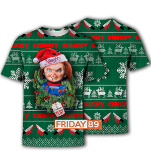 I'm Chucky Wanna Play Christmas Hoodie