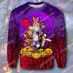 DN Characters Cosplay Horror Halloween All Over Print Hoodie T-shirt