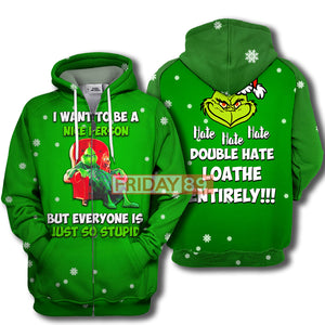Grinch I Want To Be A Nice Person
