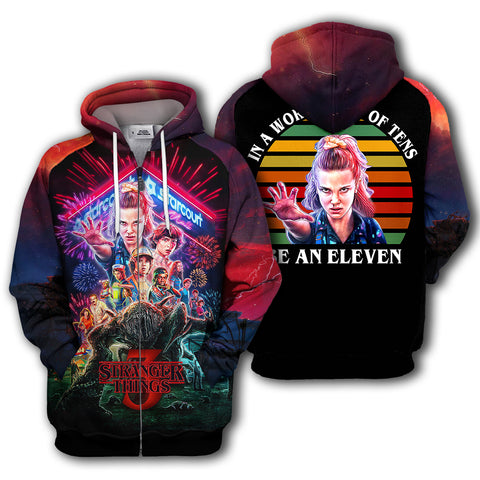 Image of Stranger Things - Be An Eleven Hoodie