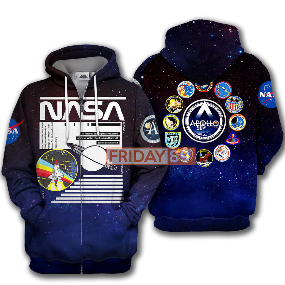 National Space Apollo Hoodie