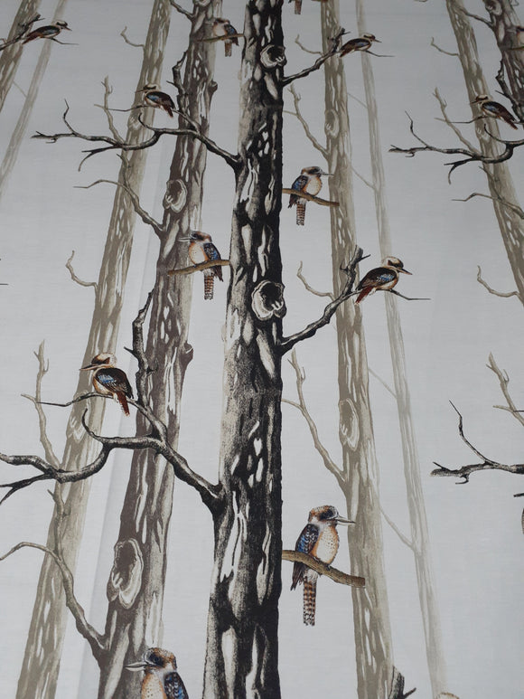 Kookaburra Old Gum Tree - K & K Fabric