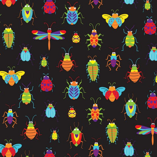 Bugs & Critters Allover - by Nutex